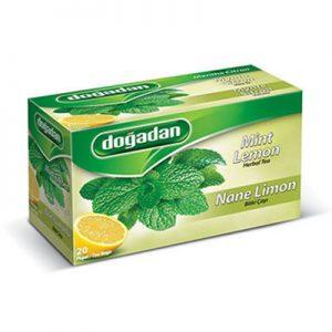 شاي تركي بالنعناع والليمون ماركة دوغدان