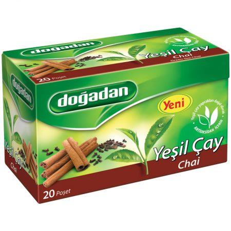 شاي اخضر تركي بالزنجبيل ماركة دوغدان