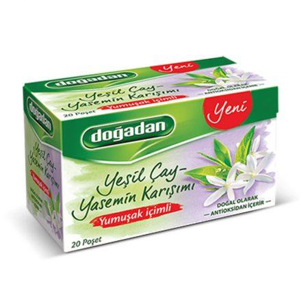 شاي تركي اخضر بالياسمين ماكرة دوغدان