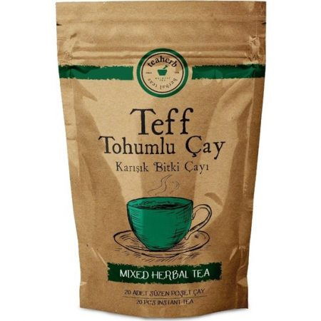 Teaherb Teff Tohumlu Çay 20 Adet Süzen Poşet