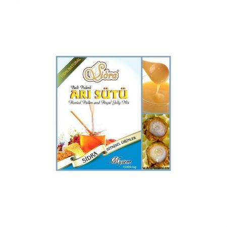 خليط العسل مع حبات الطلع (15000 Mg)