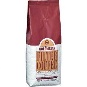 قهوة حبوب كولومبيا مفلترة 1000 غرام محمد افندي