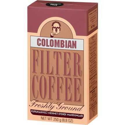 قهوة كولومبيا مفلترة 250 غرام محمد افندي
