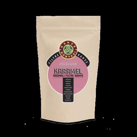 قهوة فلتر بنكهة الكرميل 250 غرام قهوة دنياسي