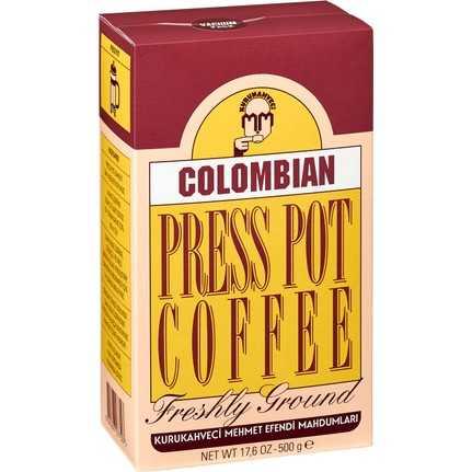قهوة كولومبيا بريس بوت 500 غرام محمد افندي
