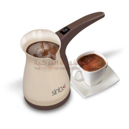 جزوة القهوة التركية الكهربائية
