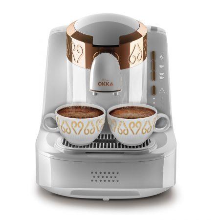 ماكينة قهوة كهربائية – ابيض