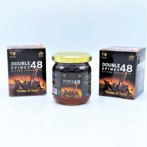 Honey with chocolate natural time 230 g for married couples