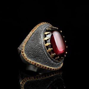 خاتم فضة ( الفخامة )