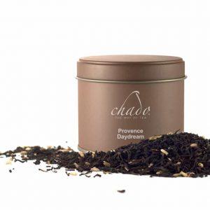شاي أسود ، لافندر ، رقائق شوكولاتة
